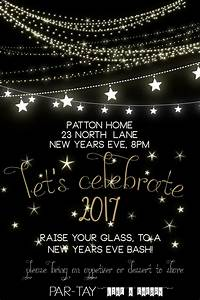 Free New Years Party Invitation - Party Like a Cherry