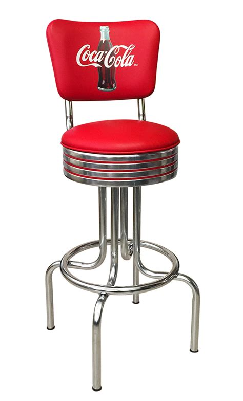 retro coca cola furniture stools table and chairs