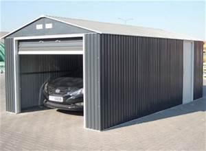 garages metal garage metallique a petit prix promo With attractive abri de jardin contemporain 7 carport archives carport