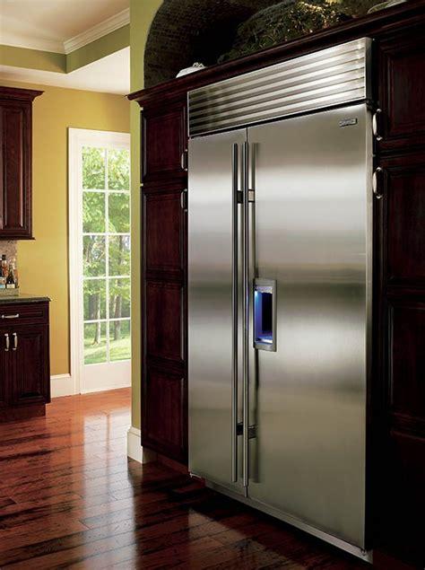 bi sdsph  built  side  side refrigerator  dispenser classic stainless