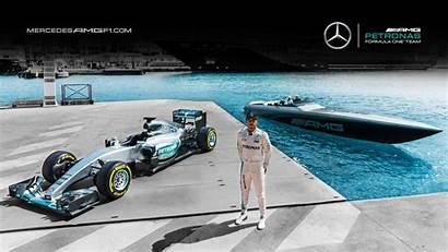 Mercedes Wallpapers Benz F1 Amg Desktop Petronas