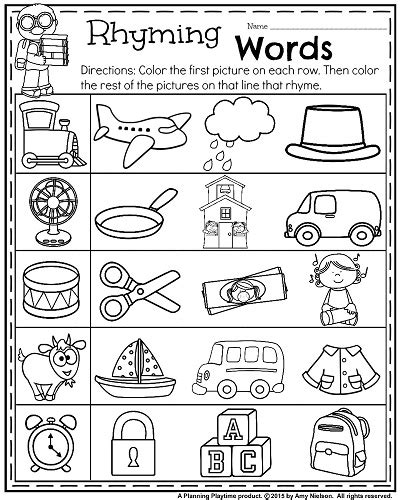 back to school kindergarten worksheets learning