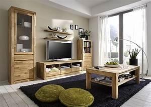 Wohnzimmer Massivholz Komplett Massivholz Mbel In