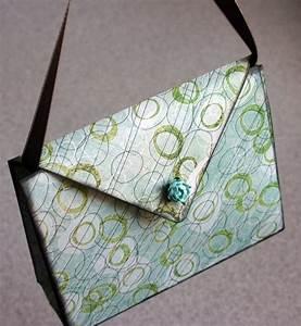 Sac En Papier Deco : diy un sac main en papier ~ Teatrodelosmanantiales.com Idées de Décoration
