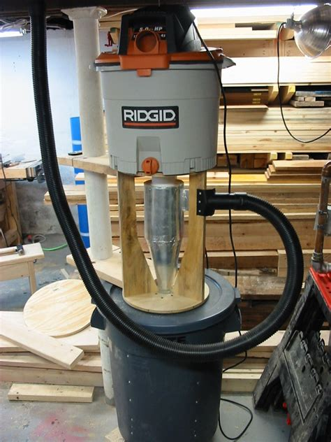mikehackercom woodworking dust collector dust