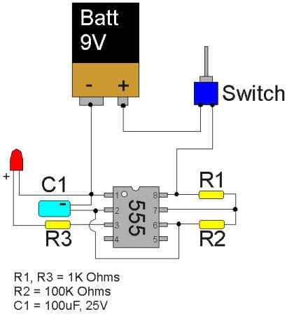 Projects Max Blinking Leds With Timer