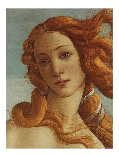 Venus Botticelli Aphrodite Birth Giphy Sandro Paintings