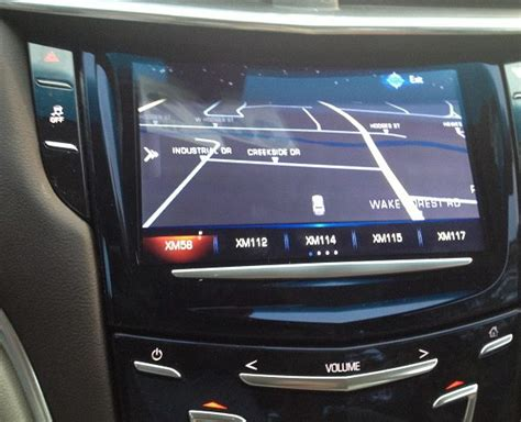 cadillac cue software update 2013 15 cadillac ats srx xts cue factory navigation system