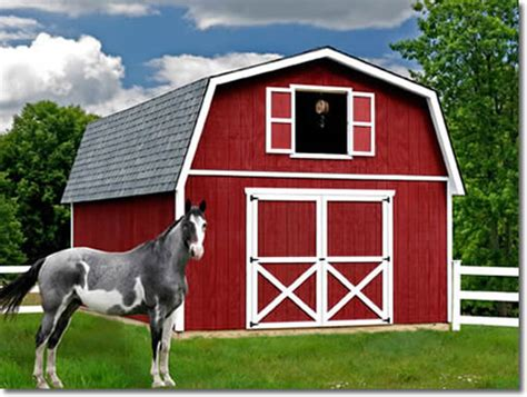 Large Barn Kits by Roanoke 16 Building Barn Kit