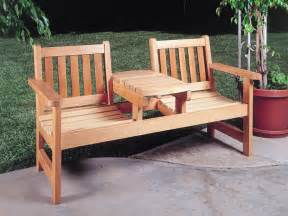 timber outdoor furniture plans easy diy idea projects
