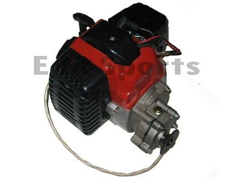 Motor Minti by 2 Stroke Mini Pocket Bike Engine Motor 49cc Parts W