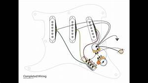3-single Coils With 5-way And Master Vol And Tone Controls