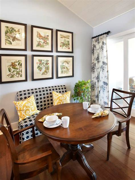 awesome breakfast nook ideas  start  day   boost