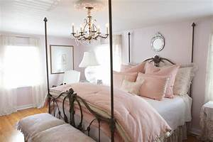 Schlafzimmer Romantisch Dekorieren : romantische schlafzimmer landhausstil ~ Markanthonyermac.com Haus und Dekorationen