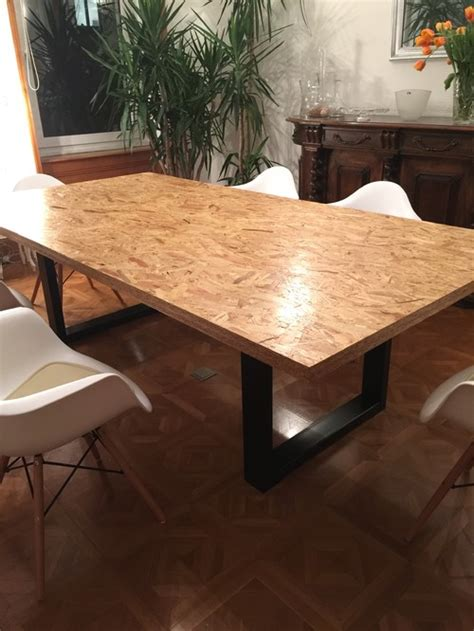 renover meuble de cuisine table design osb