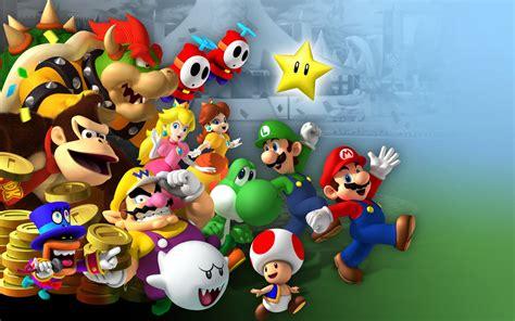 Mario Background Wallpaper  Wallpaper Wide Hd