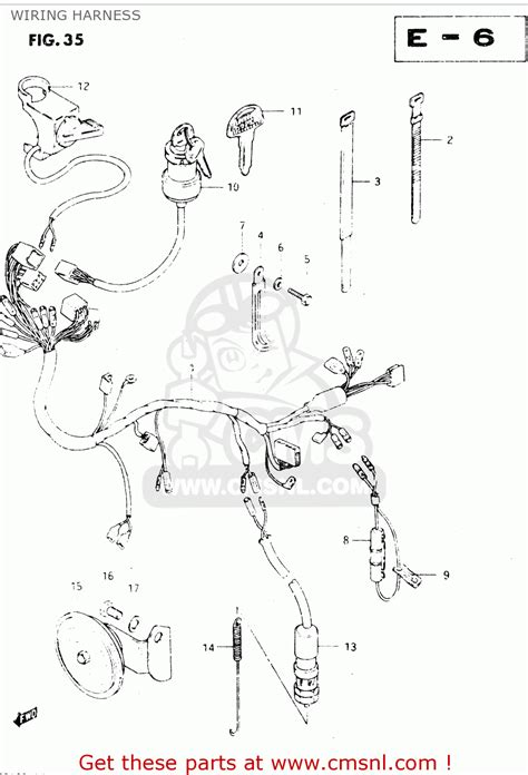 2008 King 450 Wiring Diagram by 36610 38211 Harness Wiring Dr250s 1982 Z 3661038210