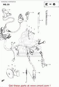 Wiring Diagram 1983 Yamaha It