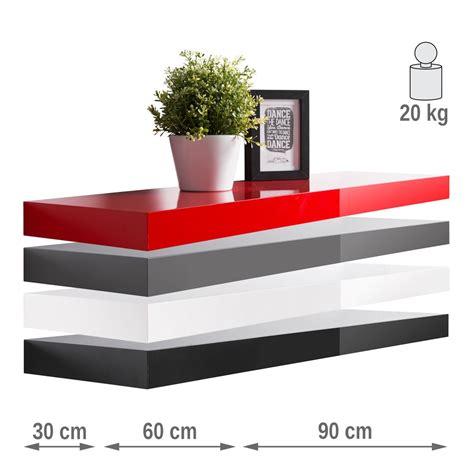 wandboard 30 cm breit wandboard ted hochglanz 30cm 60cm 90cm farbauswahl wandregal regal wohnbereiche wohnzimmer regale
