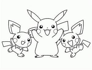 Pikachu And Satoshi  U0026quot  Pokemon  U0026quot  Coloring Pages