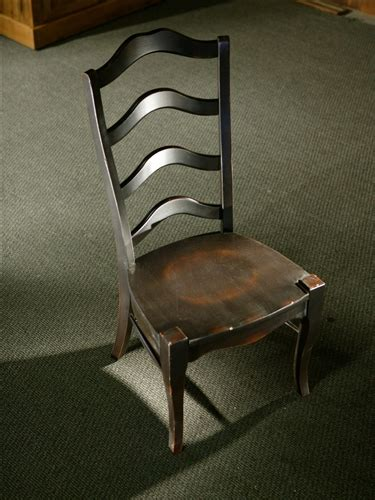 black french ladder  dining chairs ecustomfinishes