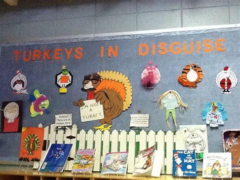 Turkey In Disguise Bulletin Board Template by Turkeys In Disguise My Bulletin Boards Class Projects
