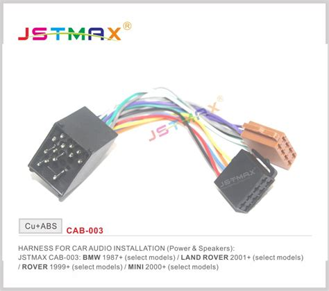 Jstmax Iso Radio Adapter For Bmw Compact