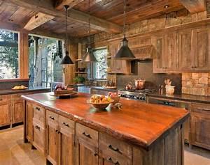 decoración de cocinas rústicas 50 ideas originales