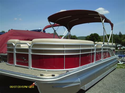 Bennington Pontoon Boat In Rough Water by New Boats For Sale