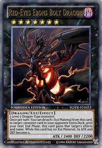 Red-Eyes Ebons Bolt Dragon by CardHunter on DeviantArt