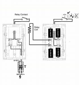 single doorbell push to two battery chimes page 3 With door bell wiring diagram door bell diagram electrical contractor