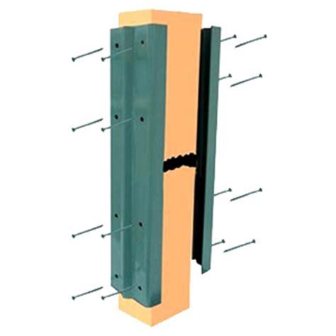 deck fence post repair kit khaki  pair