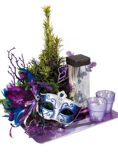 mask table decorations 12 creative new years decorations and