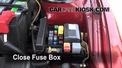 2000 Eclipse Fuse Box Relay N by Replace A Fuse 2001 2006 Dodge Stratus 2002 Dodge