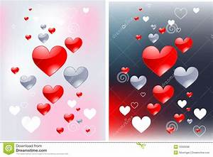 strolling for glossy hearts love backgrounds royalty free stock photos