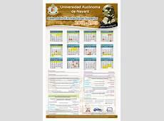 Calendario de eventos de la UAN