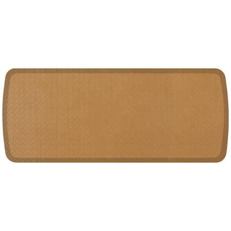 Gelpro Basketweave Comfort Floor Mat by Gelpro Elite Basketweave Khaki 20 In X 48 In Comfort Mat