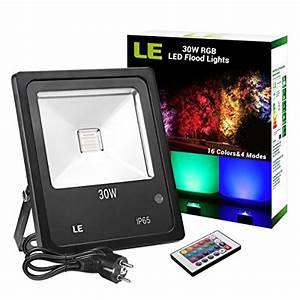 le projecteur led rgb exterieur spot lumineux multicolor With spot eclairage arbre exterieur 4 projecteur exterieur led pour jardin