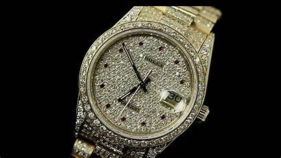Rolex Iced Rolexes Diamond Gold Datejust Ruby