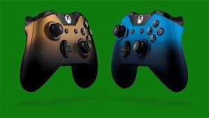 Two New Xbox One Special Edition Wireless Controllers