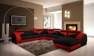 Black Furniture Living Room Ideas With Leather Home Design