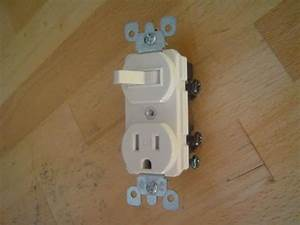 Wiring An Outlet  Switch Combo