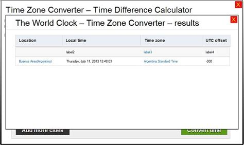 local time and temperature phone number timezone convertor gci phone service