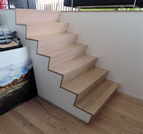 marche en bois pour escalier beton sedgu