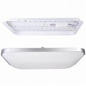 Led ceiling light flush mount fixture lamp bedroom kitchen for Kitchen lighting flush mount fixtures