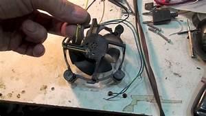 Heat Sink And 4 Wire Fan For The 100 Watt Led Light