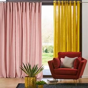 Rideau Lin Pas Cher : textiles d co en couleurs osez le m lange joli place ~ Teatrodelosmanantiales.com Idées de Décoration