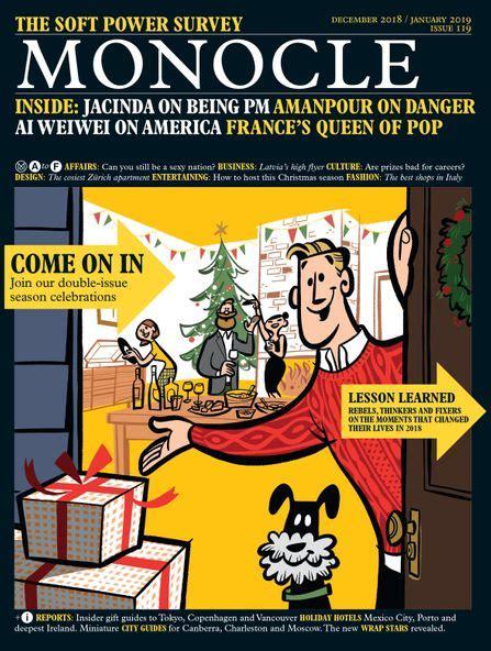 monocle issue  decemberjanuary  papercut