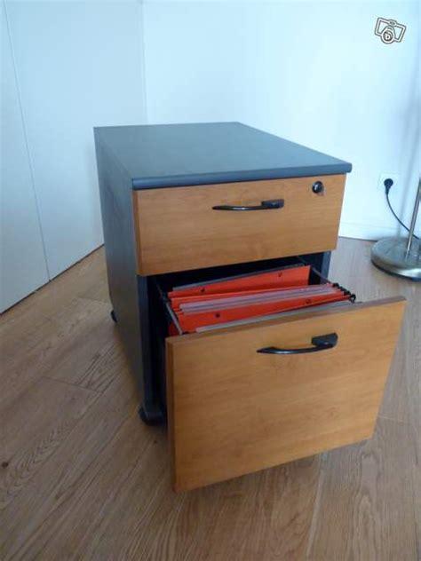 caisson sous bureau caisson bureau rangement bois trieur occasion