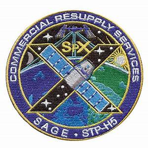 SpaceX CRS-10 patch: ISS resupply flight - collectSPACE ...
